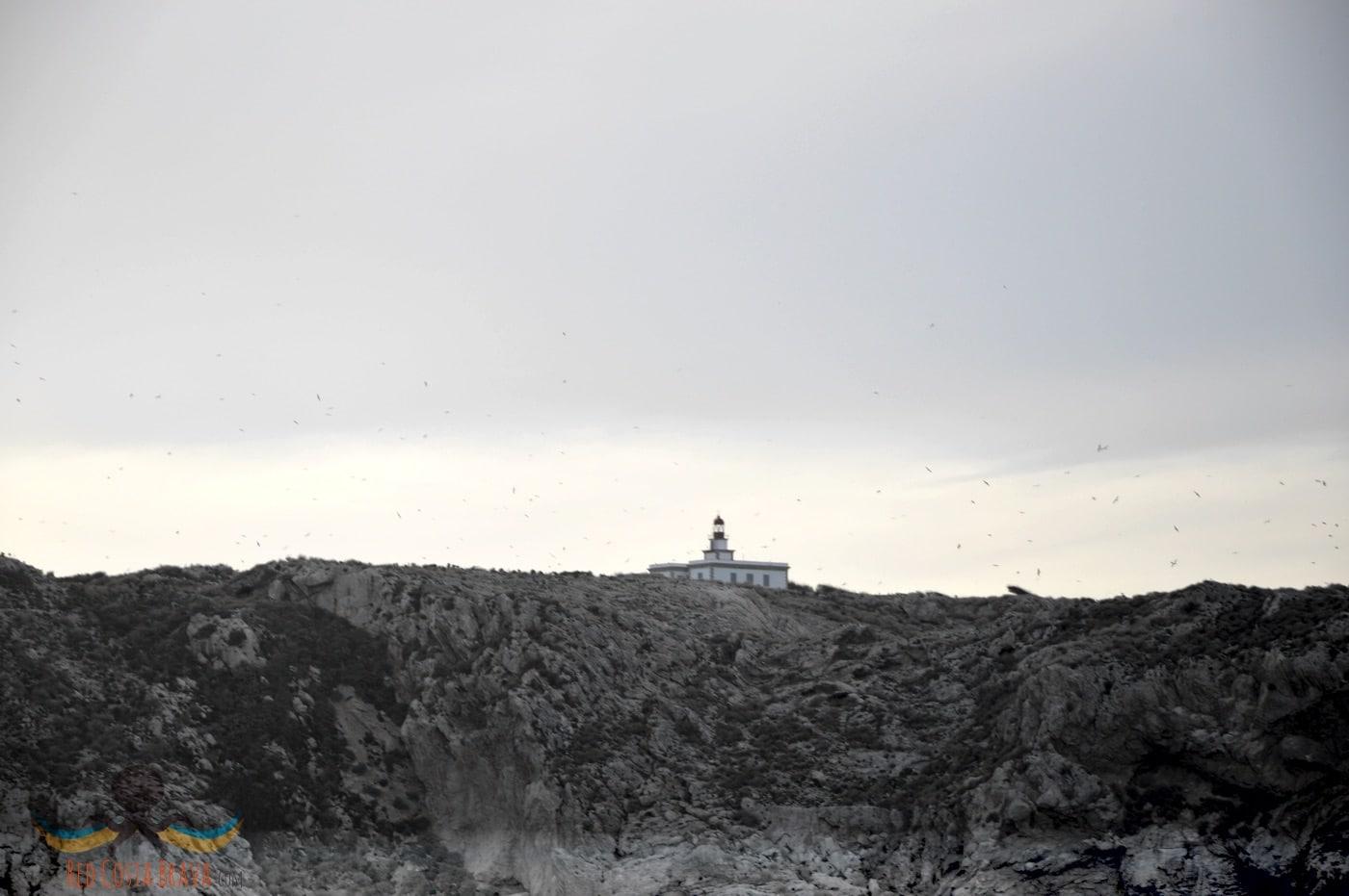 entorno faro islas medes
