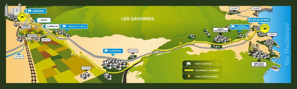 4º Maratón de las Vías Verdes del Carrilet - Girona