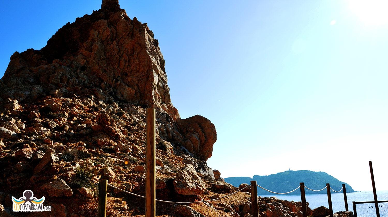 Punta del Molinet - islas medes - mirador Costa Brava