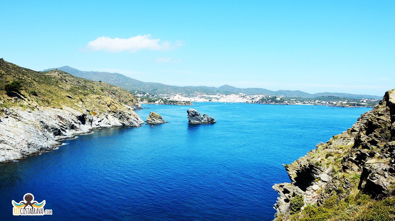 Vista desde Cala Sa Sabolla