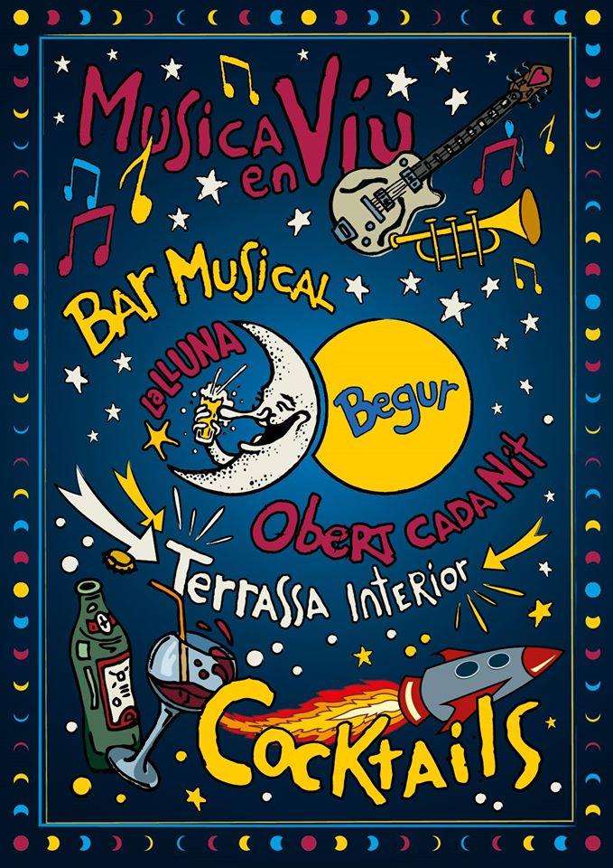 La Lluna - bar musical en Begur