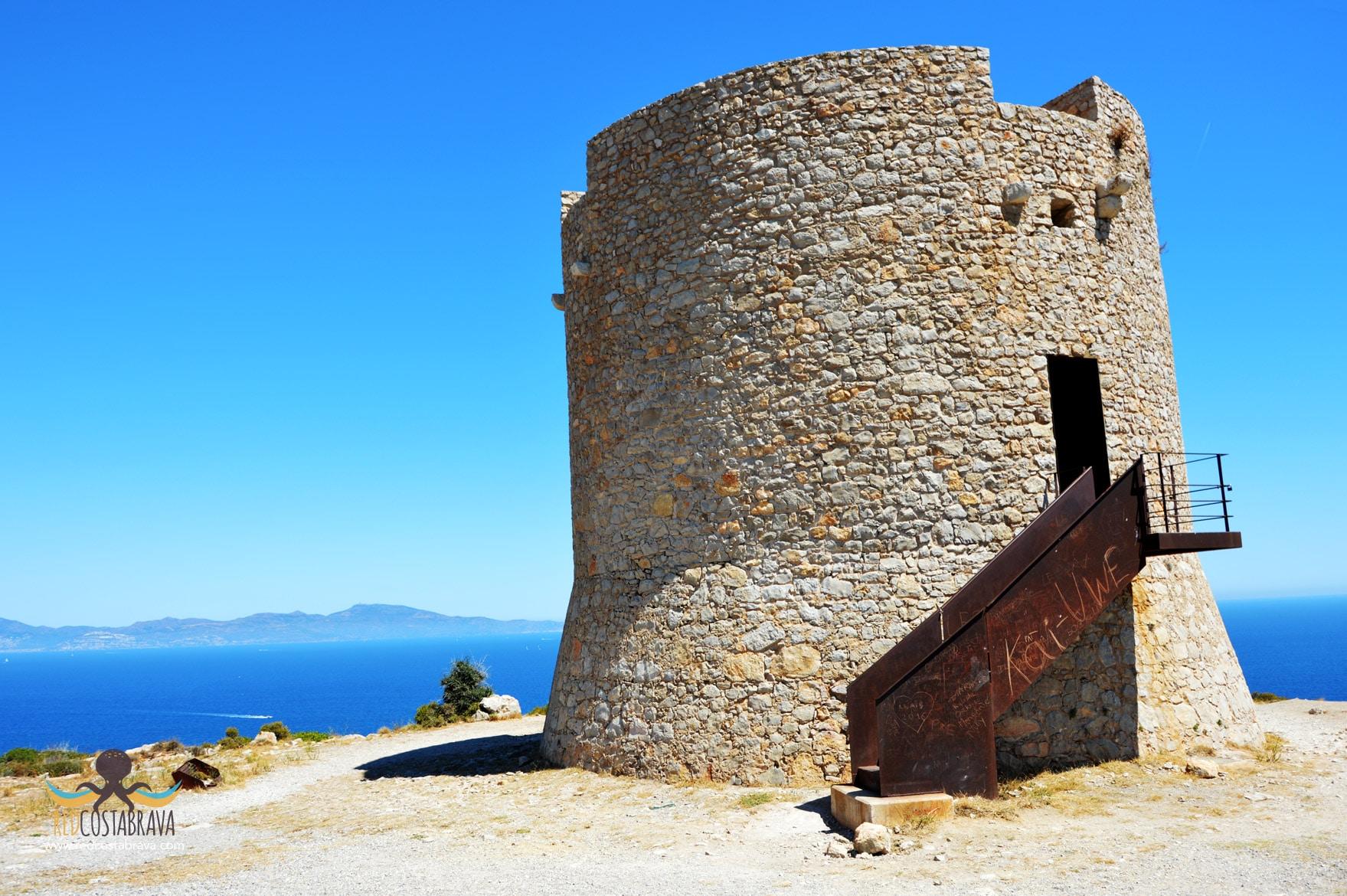 mirador Torre Montgó - l'Escala