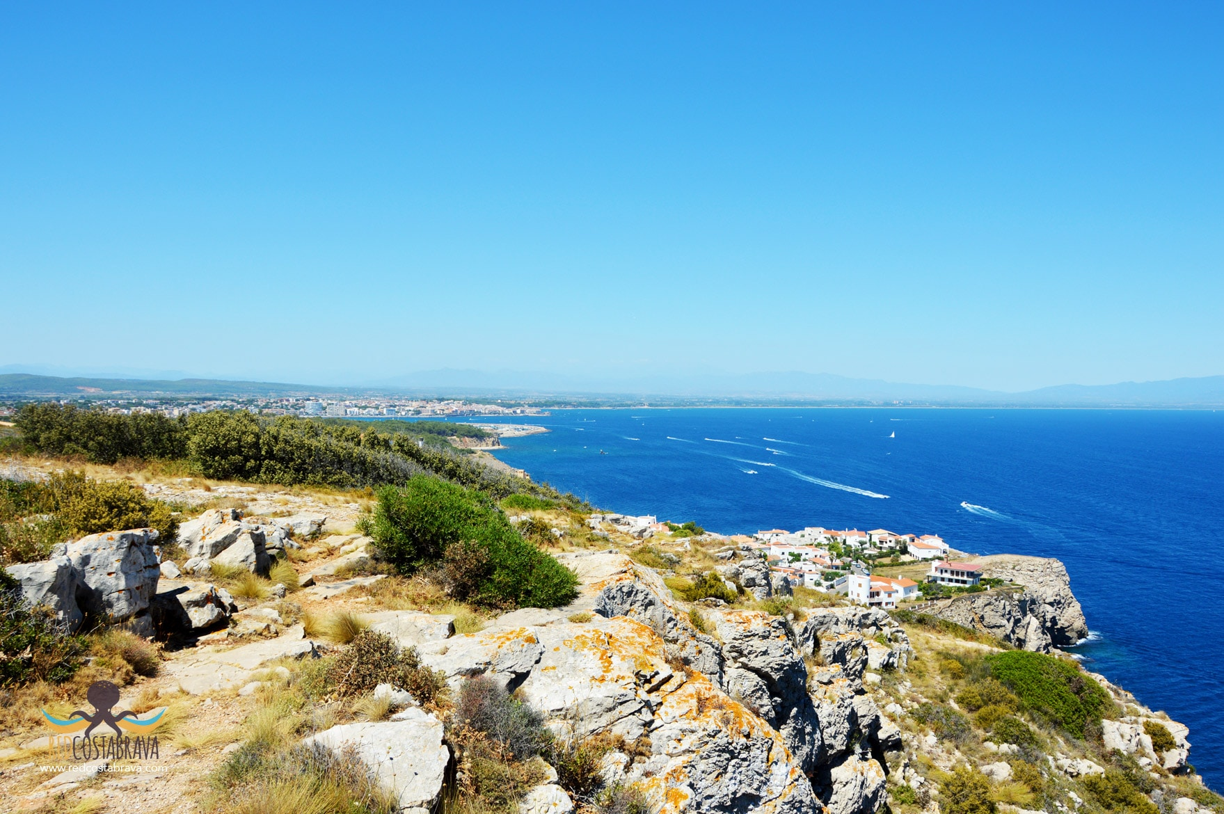 vista desde mirador Torre Montgó - l'Escala