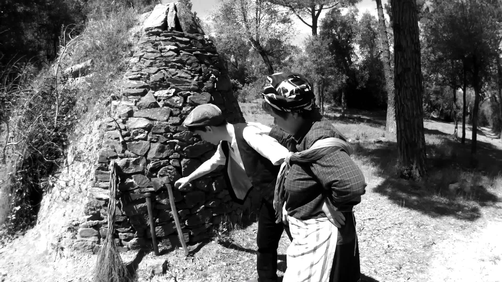 La tradicional Festa de la Carbonera de Forallac, una fiesta que cumple su XIX edición