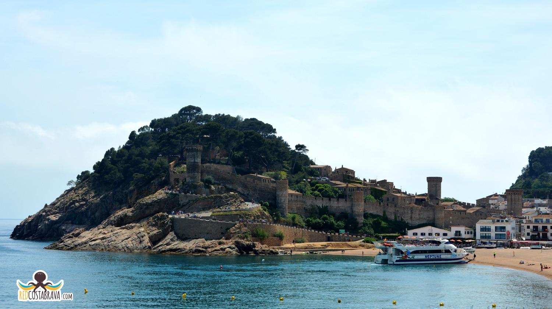 Vila Vella en Tossa de Mar