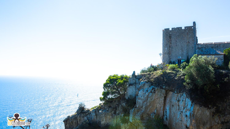 La Torre de Guaita o Torre de Sant Sebastià