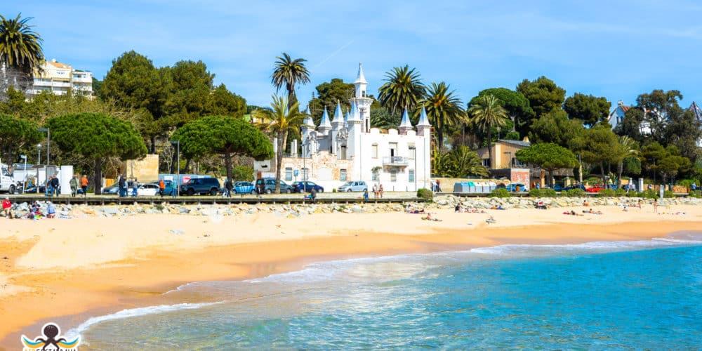 Playa de Sant Pol y la Casa de las Puntas