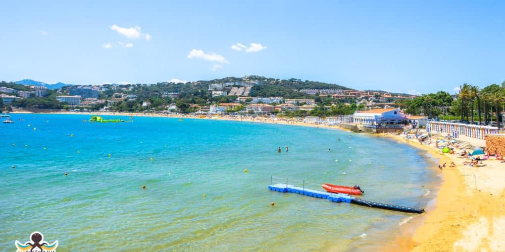 Playa de S'Agaró y los Banys de S'Agaró