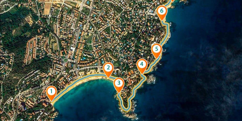 Camino de ronda – de la Playa de Sant Pol a la Playa Sa Conca