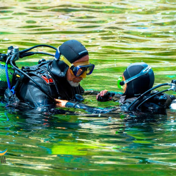 Bautismo de buceo / submarinismo en la Costa Brava - Aiguafreda - Begur