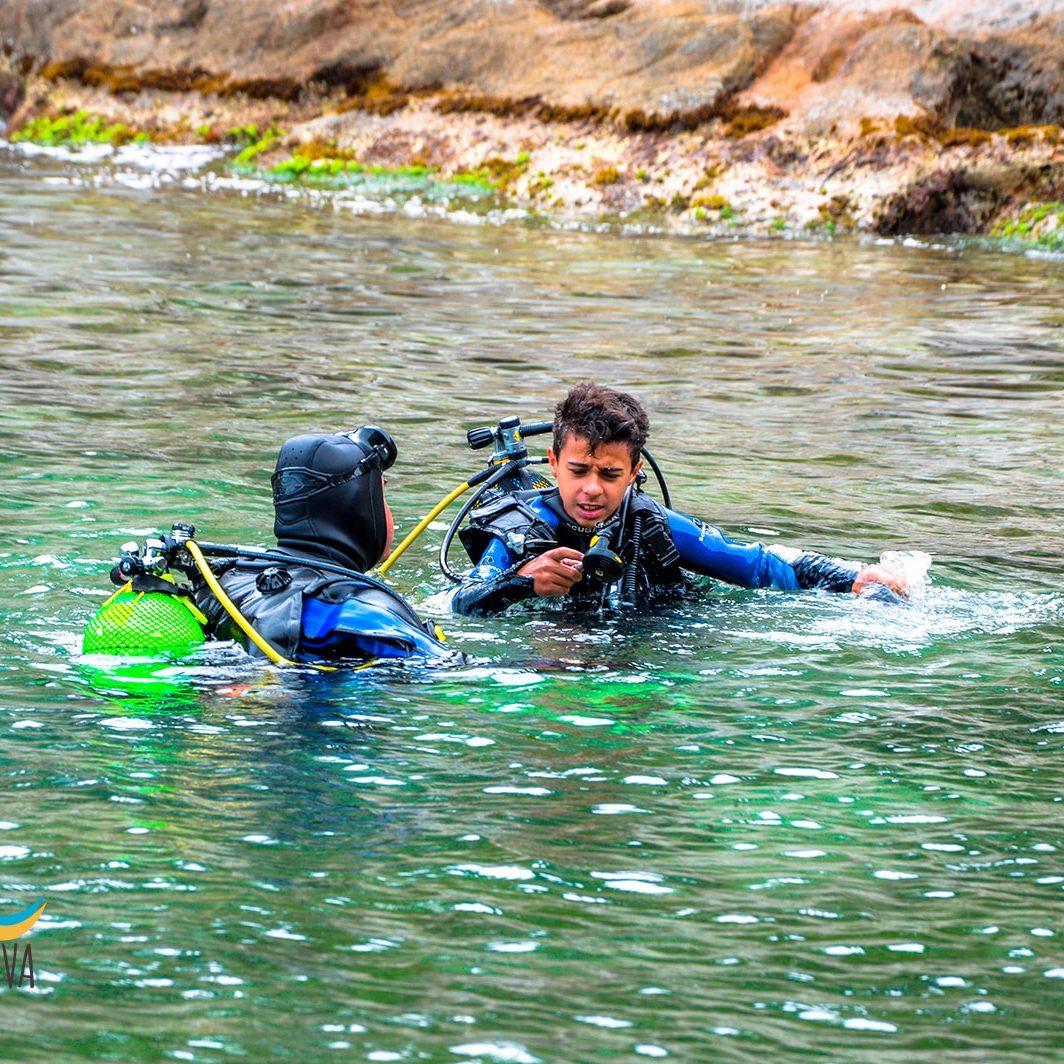 Bautizos de buceo en la Costa Brava