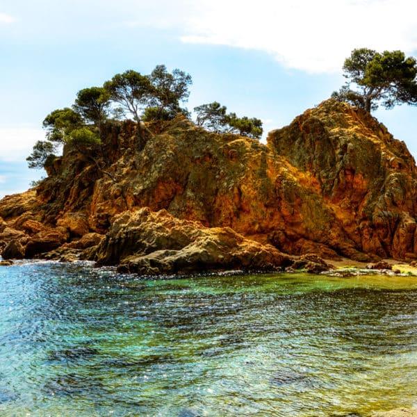 Cap Roig cerca de la Cala Belladona