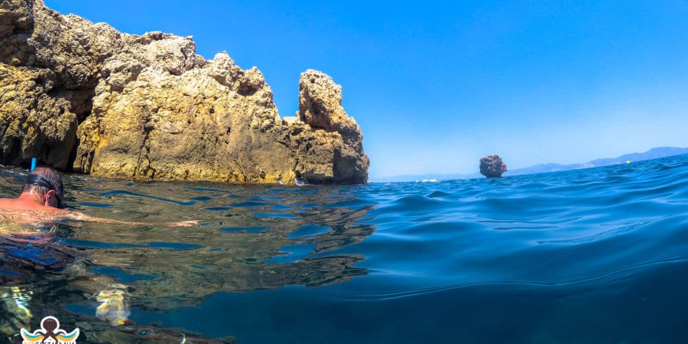 (ubicación aproximada, referencia para snorkel) Pecio Cotentin en La Escala - Cala Mateua