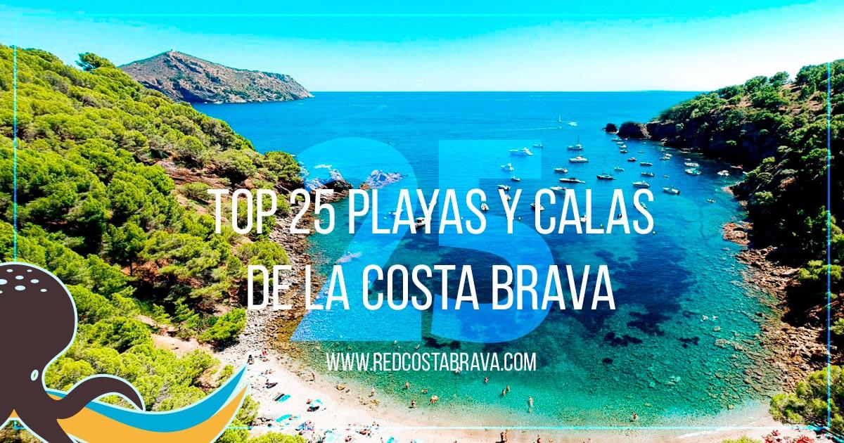 Mapa Costa Brava Playas.Descubre Las Mejores Playas Y Calas De La Costa Brava Las