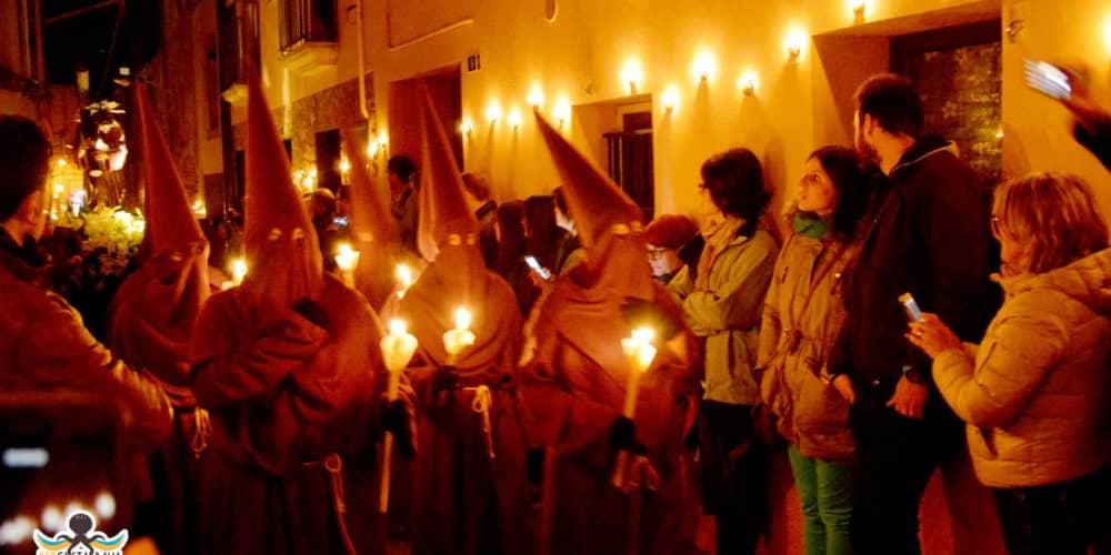 Processó de Verges, Dansa de la Mort, Carrer dels Cargols