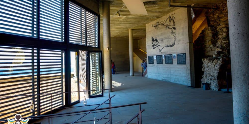 Castell de la Trinitat - Roses - interior