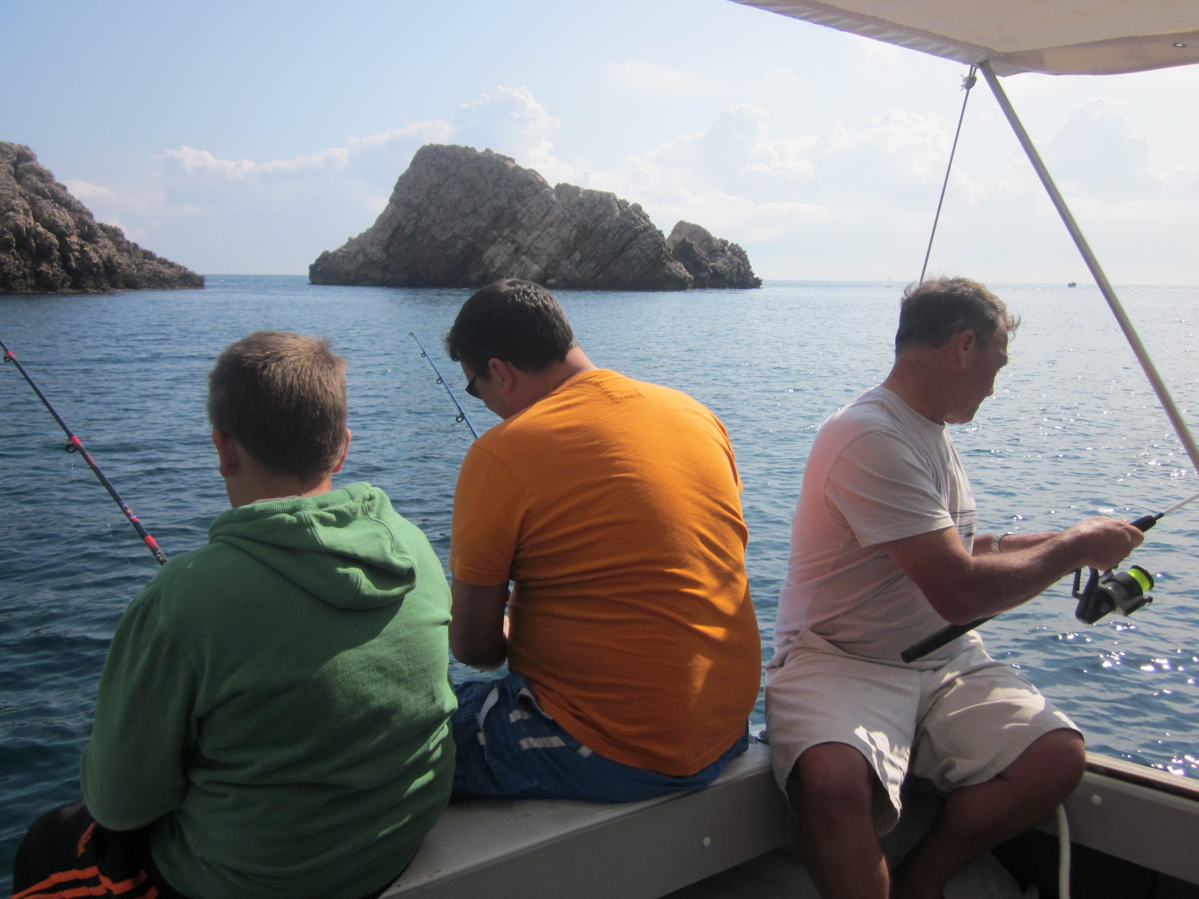 Excursiones de pesca en barco